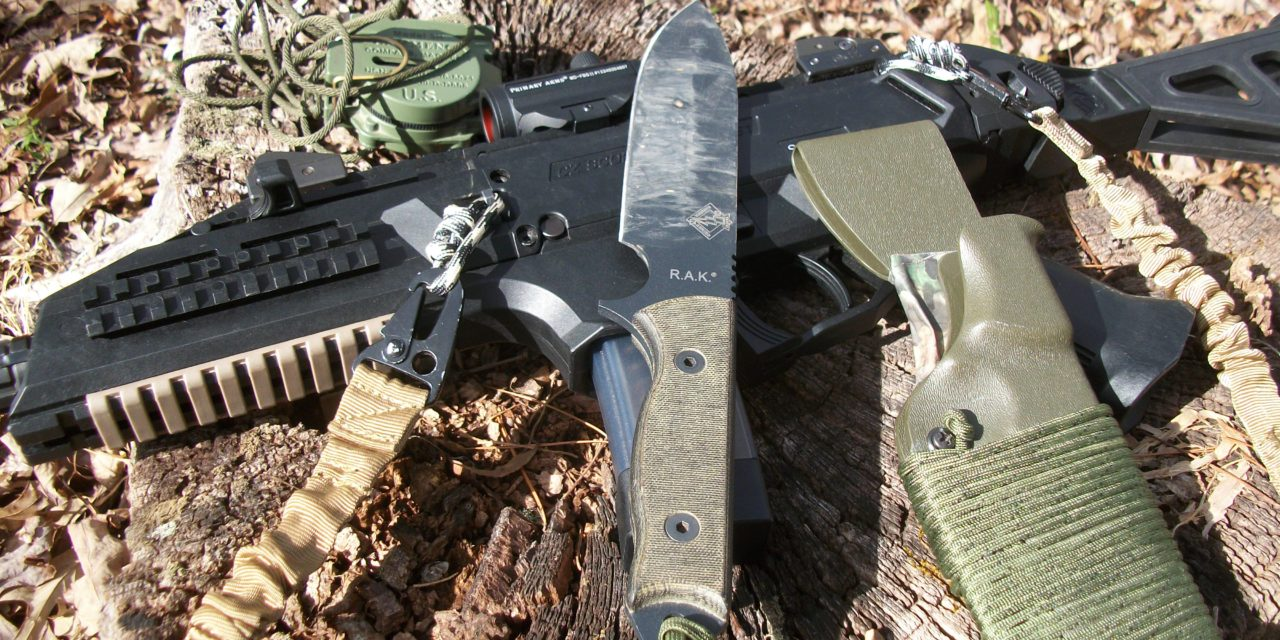 Ontario's Ranger Assault Knife: The Best Of All Worlds?