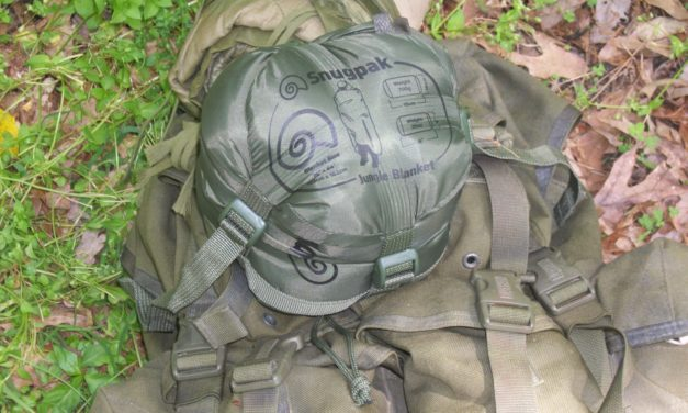 A Better Woobie: SnugPak Jungle Blanket