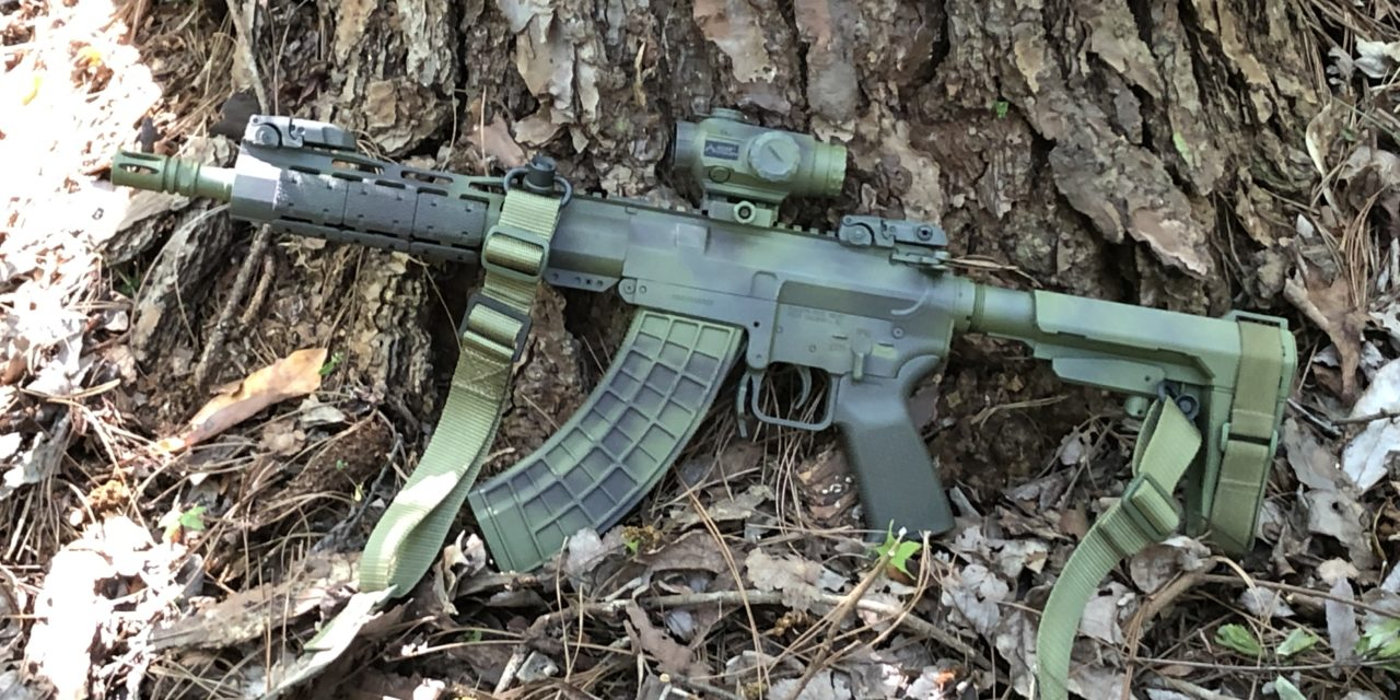 Palmetto State Armory KS-47 Pistol parts 3 & 4.