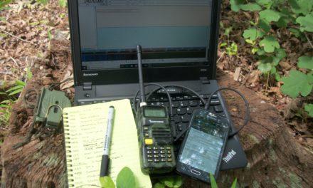 A DIY Radio Data Terminal On The Cheap