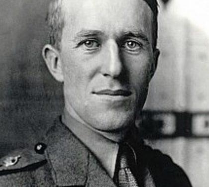 T.E. Lawrence, a master of guerrilla warfare.