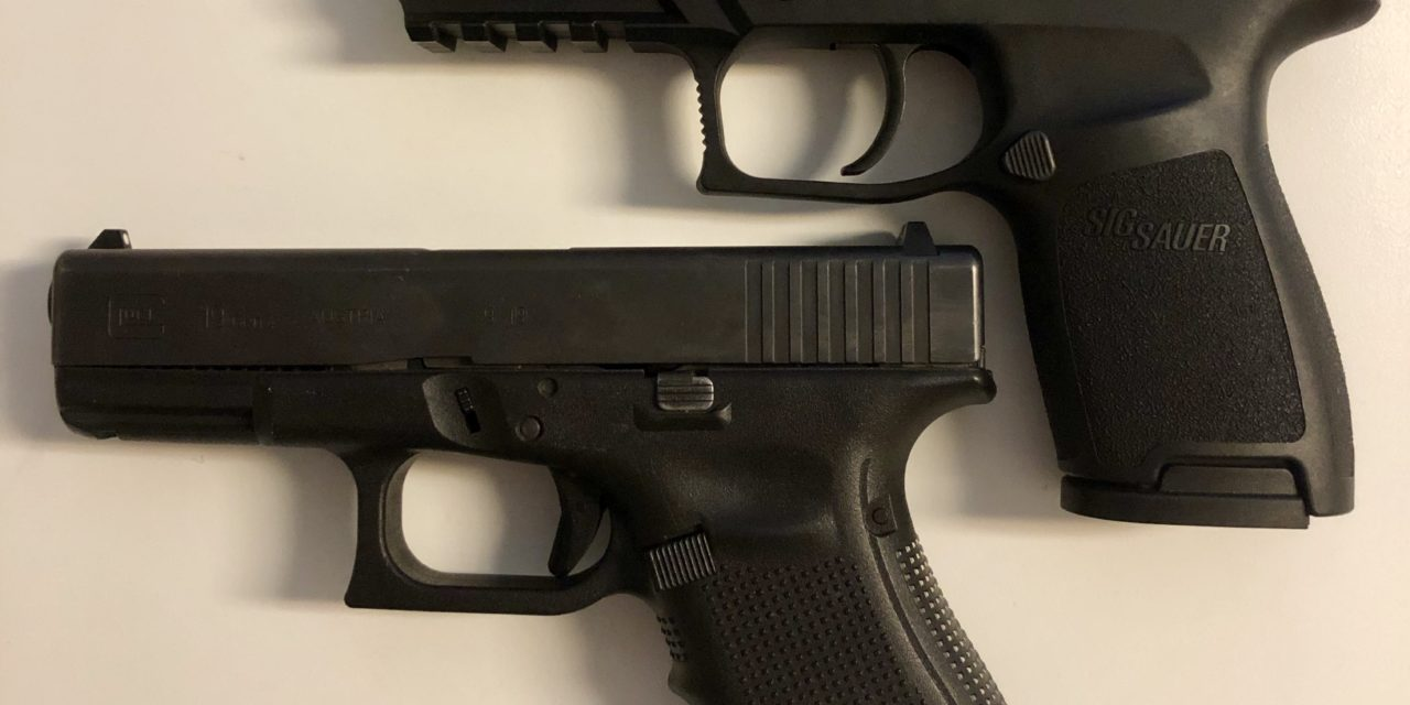 The Army's two handguns: One shooter's thoughts on the Glock 19 and the Sig Sauer P320