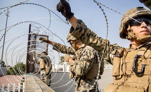 The Novelty of Placing our Active Duty Military on our Actual Border.