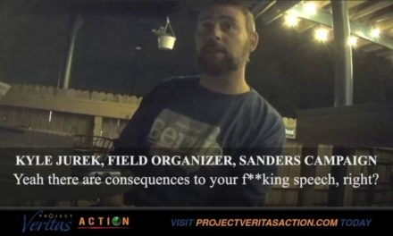 Project Veritas: Bernie Sanders' Organizer Openly Admits To Gulags For 'Nazi' Trump Supporters