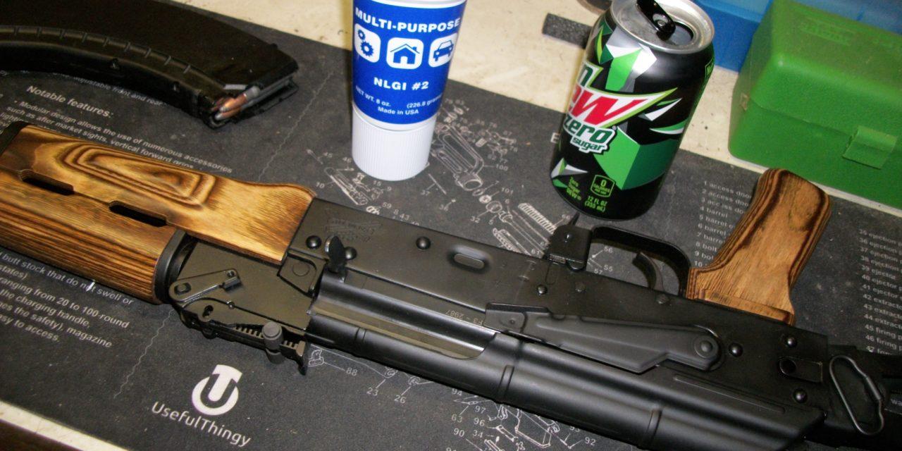 Lubricating the Kalashnikov