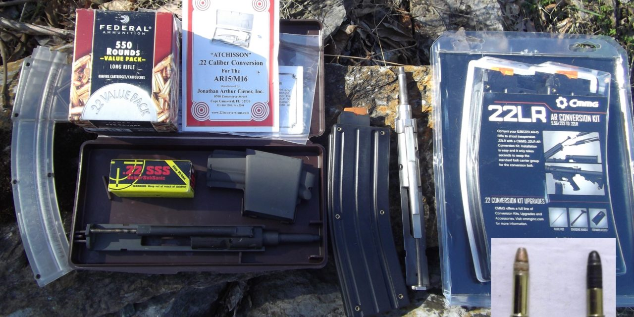 """""""Adapting To Survive"""": Firearms-Part 2, The AR-15 to .22LR Conversion Kit"""
