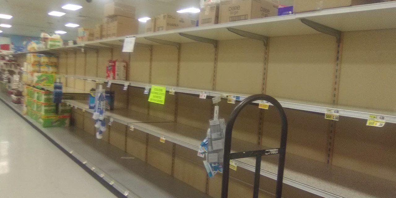 Coronavirus: Scenes from a NE Grocery Store