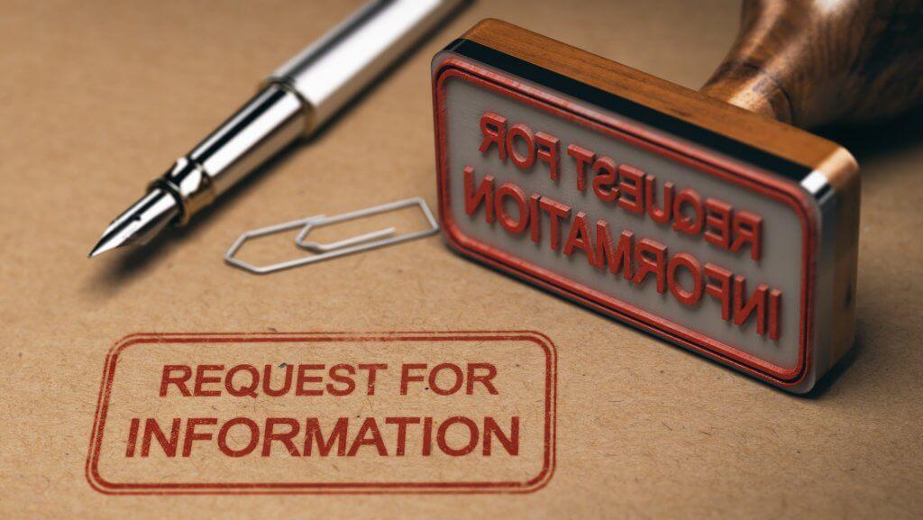 Request for Information (RFI) – Coronavirus Supply Sitrep