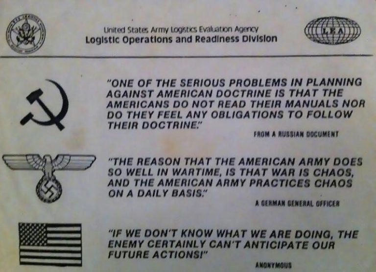 On War: Understanding the Importance of Doctrine