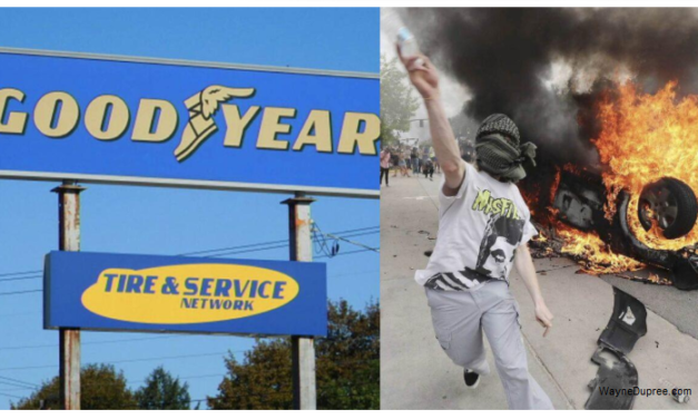 GoodYear Tire – BLM OK Trump Bad – With Update