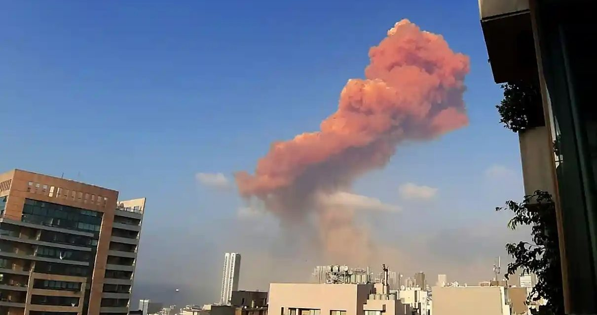 Large Explosion In Beirut