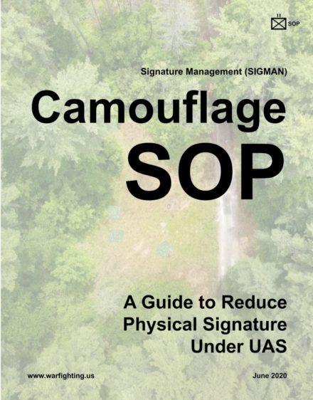 USMC's New Guide For Mitigating Signature Under UAS