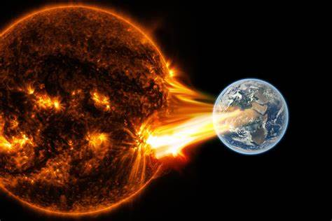 Is a solar storm headed for Earth?