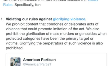 American Partisan – Twitter Prisoner