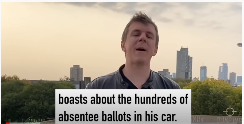 Project Veritas – Absentee Ballot Harvesting in Minniapolis