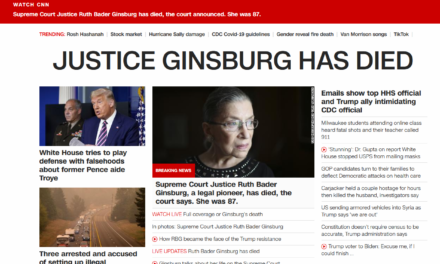 BREAKING NEWS: Ruth Bader Ginsburg dead at 87