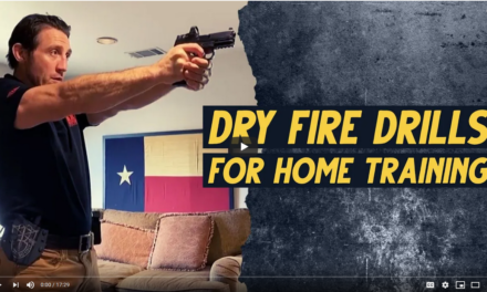 Dry Fire Drills for Home Training from Tim Kennedy of Sheepdog Response