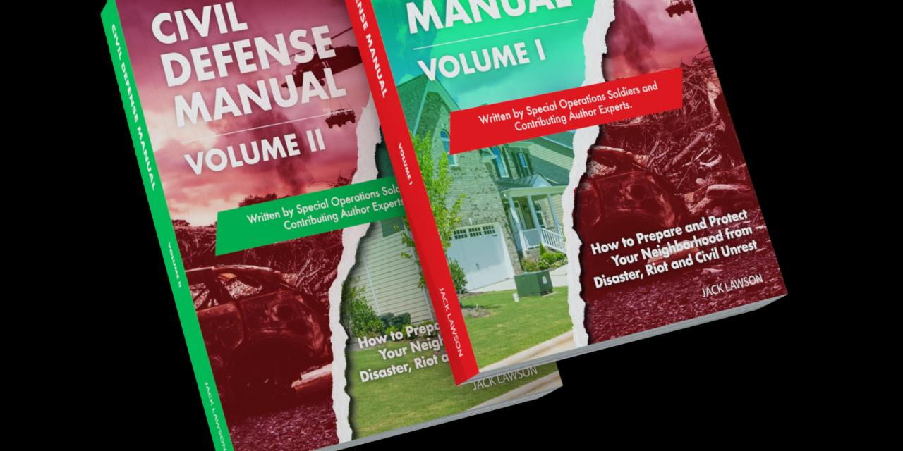 Jack Lawson's Civil Defense, Volumes I & II on Sale Now!