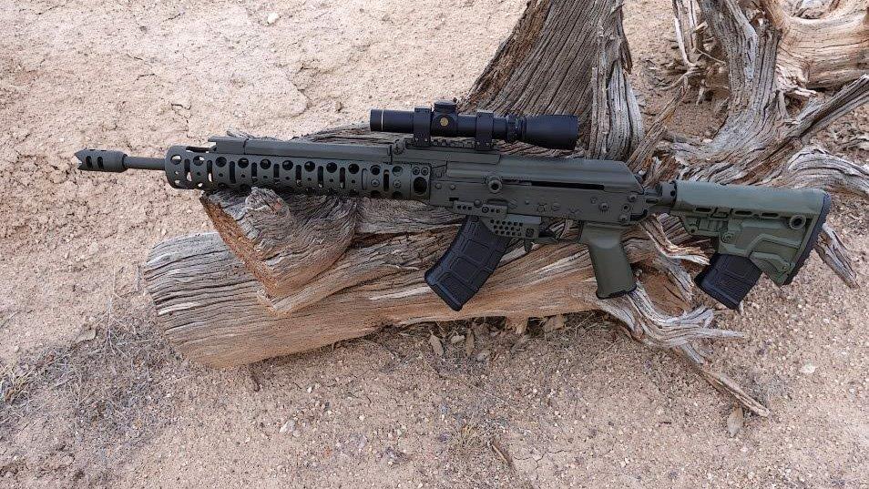 Dave Lauck Sends: SLR Custom Carbine 7.62×39