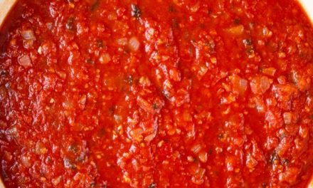 Something a Little Different – Home Made Pasta Sauce