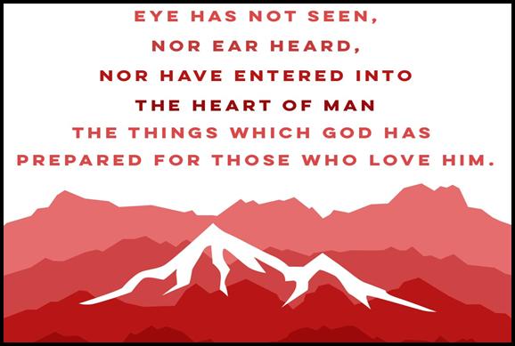 """""""As It Is Written"""" 1 Corinthians 2:1-10"""
