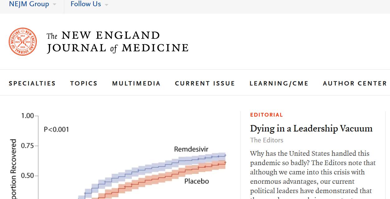 SICKENING: THE NEW ENGLAND JOURNAL OF MEDICINE GOES WOKE, PUBLISHING POLITICAL PROPAGANDA!, by DVM
