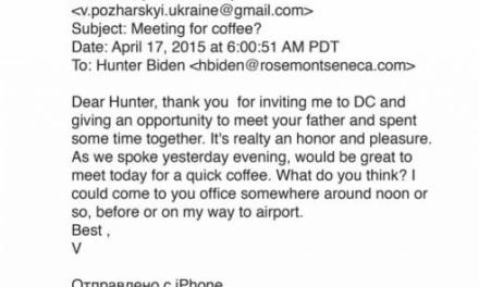 It's Not About Hunter – It Is About Joe