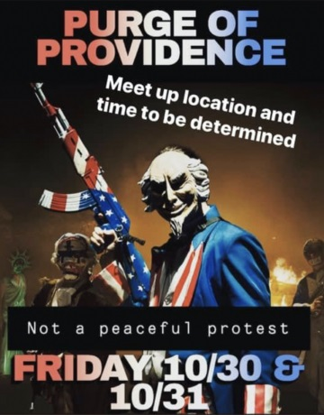 Providence Organizer of 'The Purge' Arrested