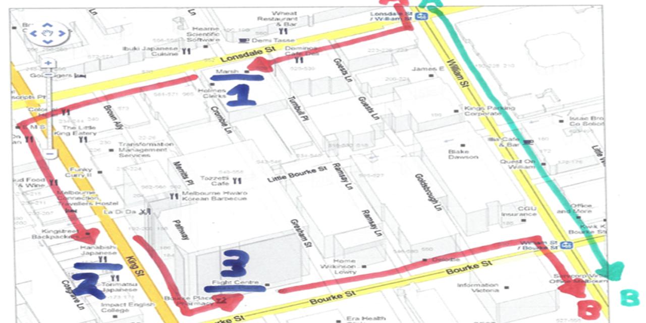 Surveillance Detection Routes