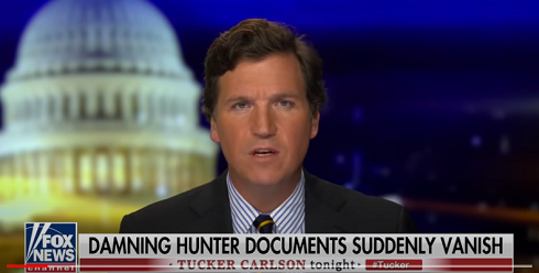 Tucker Carlson – Damning Hunter Documents Suddenly Vanish… UPDATE