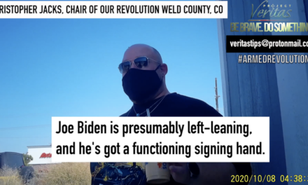 "Project Veritas: Our Revolution Chair and Colorado Dem Party Exec ""It's truly killing random Nazis in the street"""