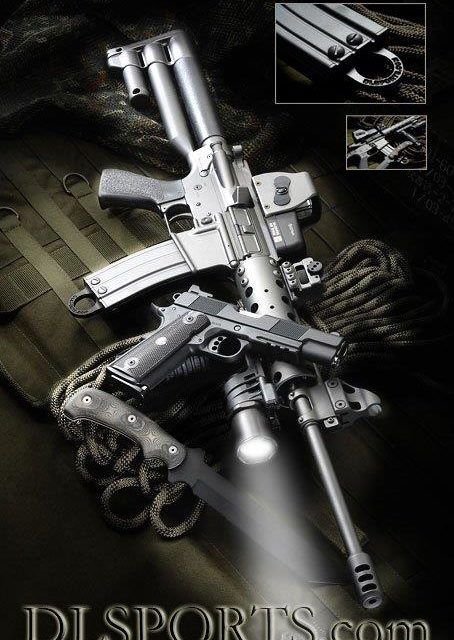 Dave Lauck Sends: D&L Custom Piston Carbine