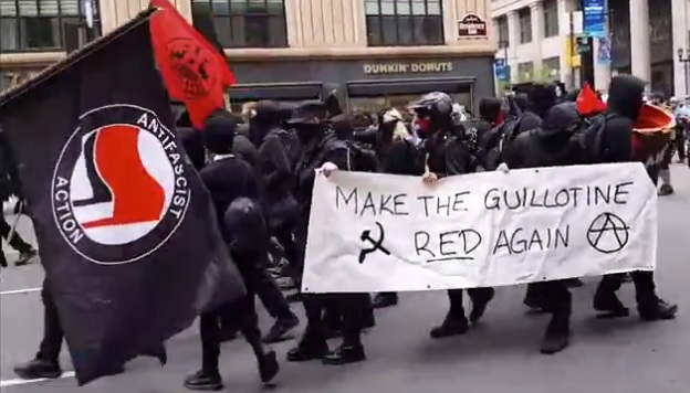 . . . ANTIFA: RISE OF THE BLACK FLAGS . . .          [OUTSTANDING DOCUMENTARY]