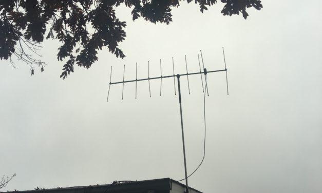 Raising the Diamond A144S10 Yagi Antenna