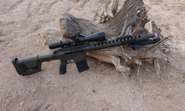 On The AR15 / M16 rifle , by JDAR