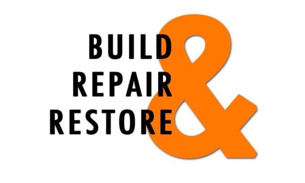 "Nehemiah 3: ""Build, Repair & Restore"" by CountrySlicker"