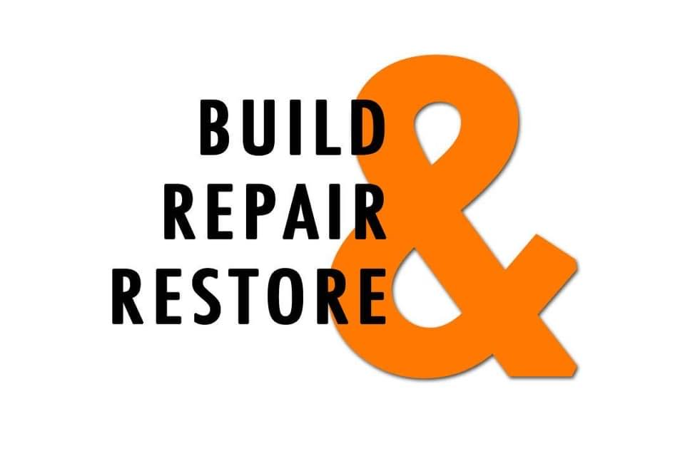 "Nehemiah 3: ""Build, Repair & Restore"" by CountrySlicker"