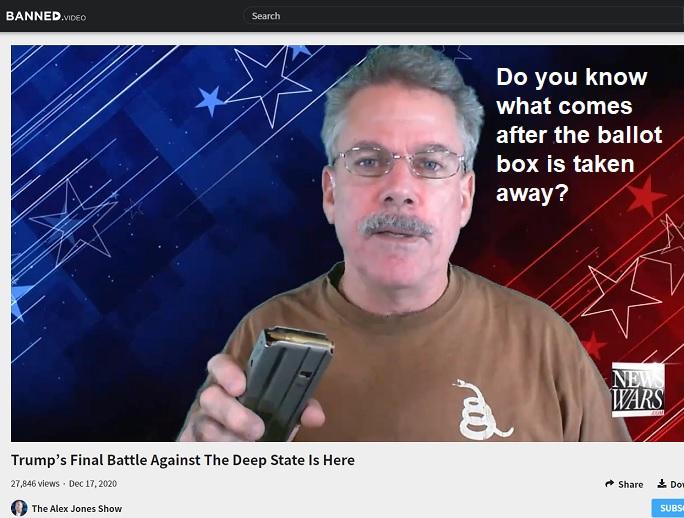 BRACKEN VIDEO: BALLOT BOX OR BULLET BOX
