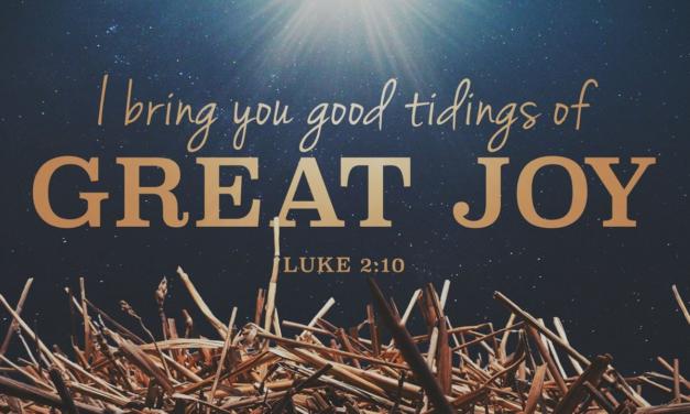 """Luke 2:1-40: """"Good Tidings of Great Joy"""", by Country Slicker"""