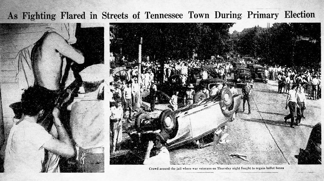 """Hows About Some """"1946 Athens Tennessee Action"""""""