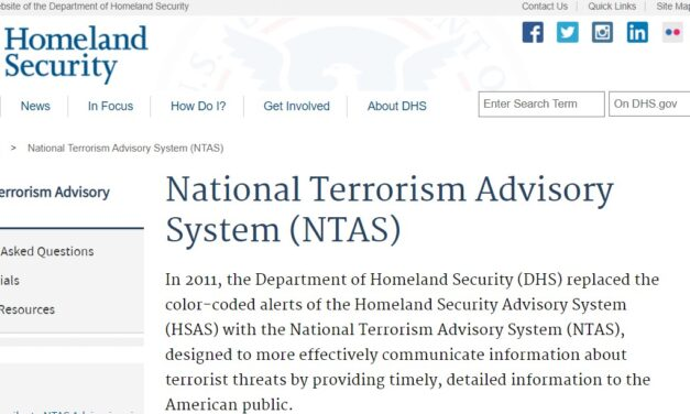 Is the DHS Saying You Are A Terrorist?