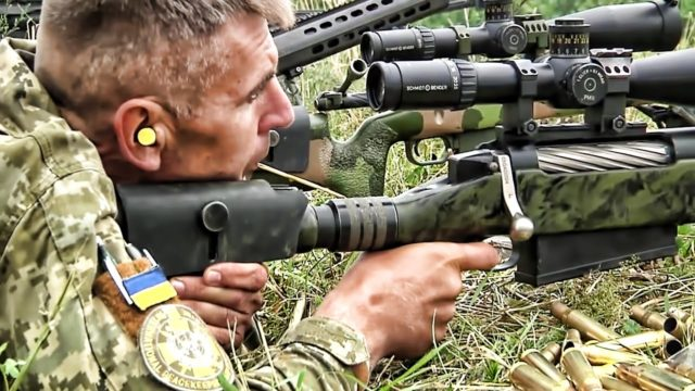 The Role of Snipers in the Donbas Trench War