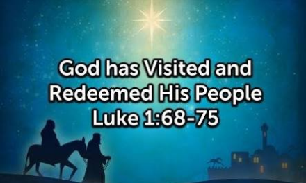 """""""Blessed is the Lord God of Israel"""" Luke 1:67-80, by CountrySlicker"""