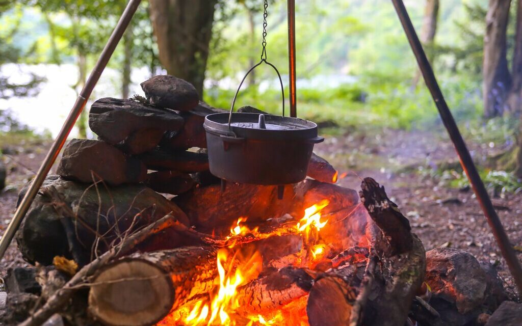 "Off Grid ""Campfire"" Cooking"