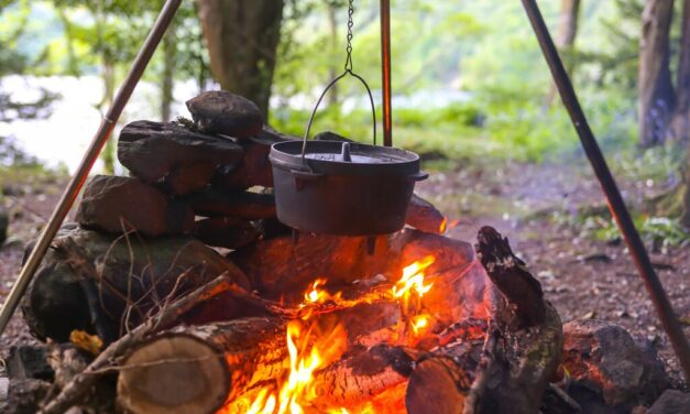 """Off Grid """"Campfire"""" Cooking"""