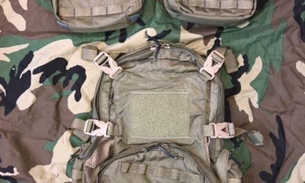 Crossfire DG1 and 4 litre pouch