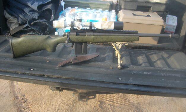 Setting Up A Bare-Bones Guerrilla Sniper Rifle in the 21st Century