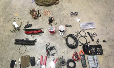 Junk on the Bunk: Field Expedient Antenna, by Prof. Spartan