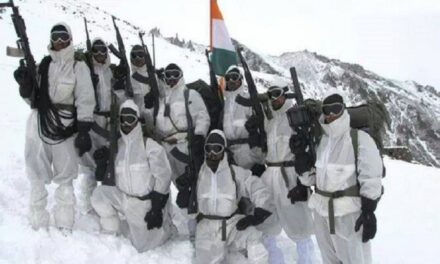 Surviving on milk powder and willpower, six Indian soldiers held a peak on Siachen for half a year