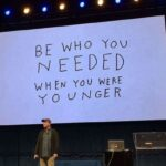 """Be Who You Needed"" Matthew 5:19, by CountrySlicker"
